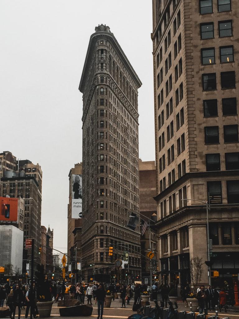 Flatiron Buliding, budynek w kształcie żelazka w Nowym Jorku