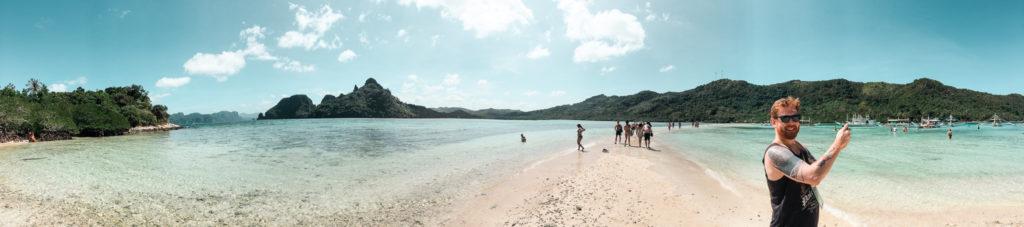 panorama snake island na Palawanie