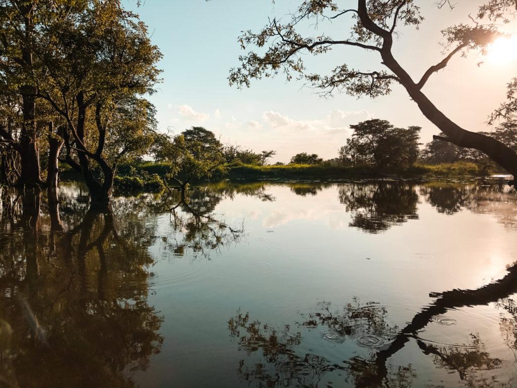 jezioro w sigiriya