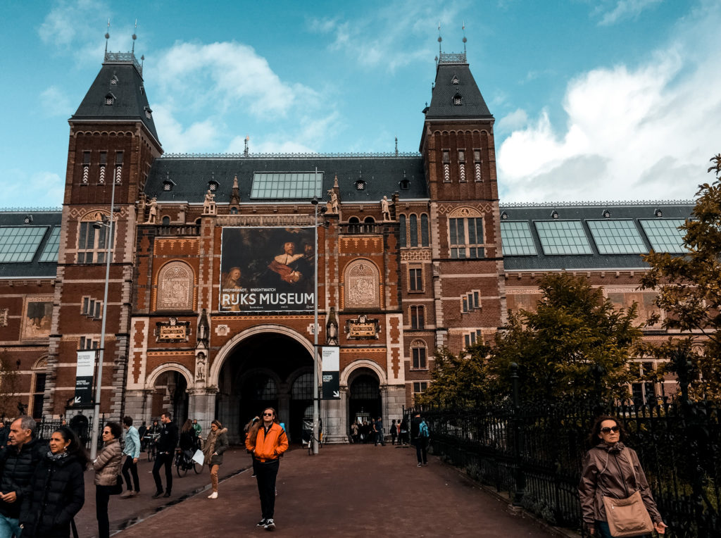 Rijksmuseum w Amsterdamie