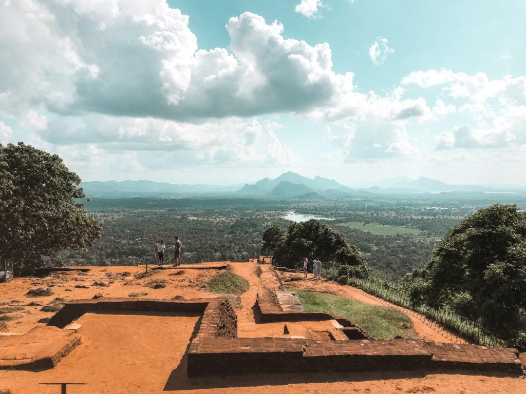 Lion Rock w Sigiriya