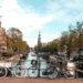 kanał wodny w Amsterdamie