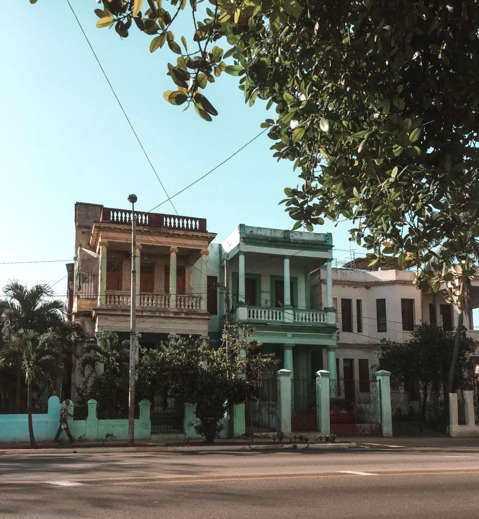 budynki na Kubie
