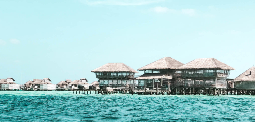 domki na oceanie, Malediwy
