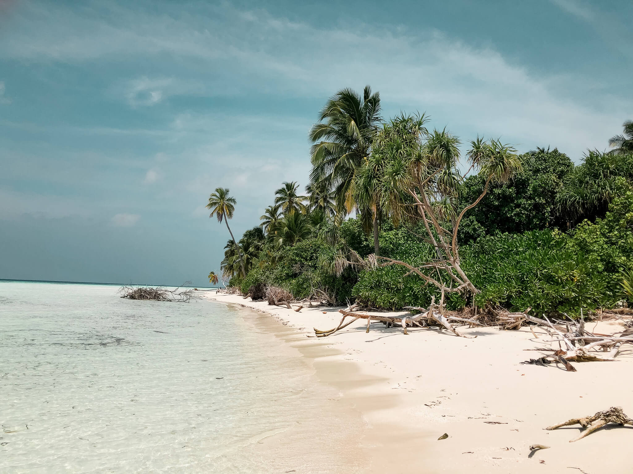 cudowna plaża, Malediwy