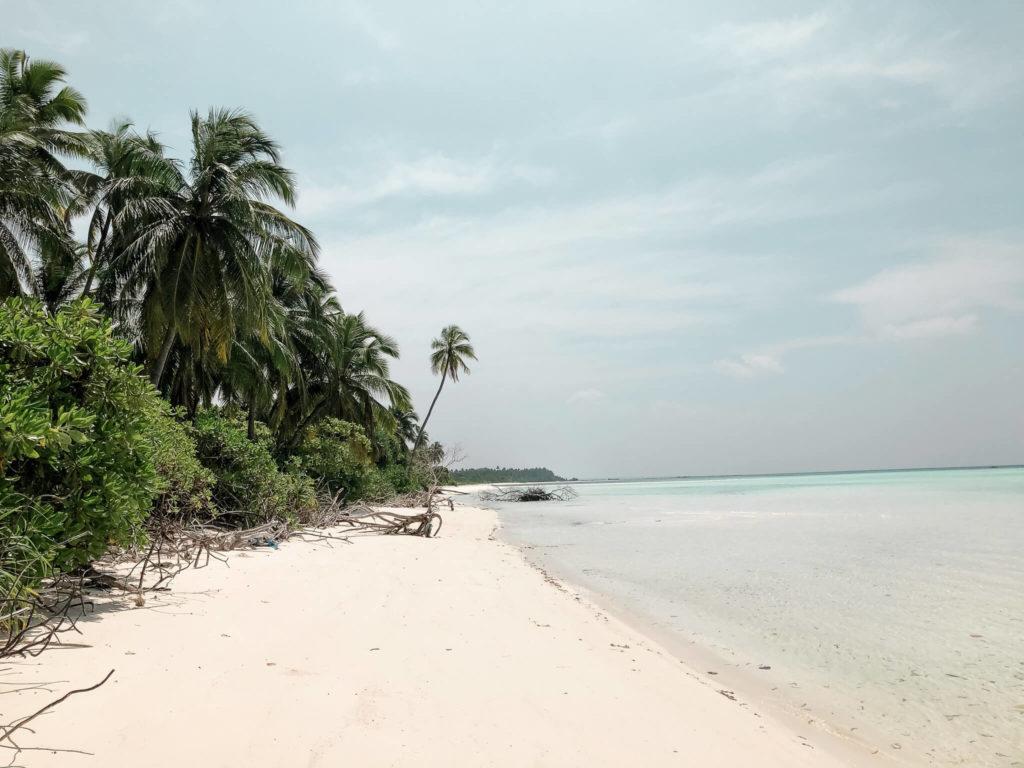 rajskie plaże na Malediwach