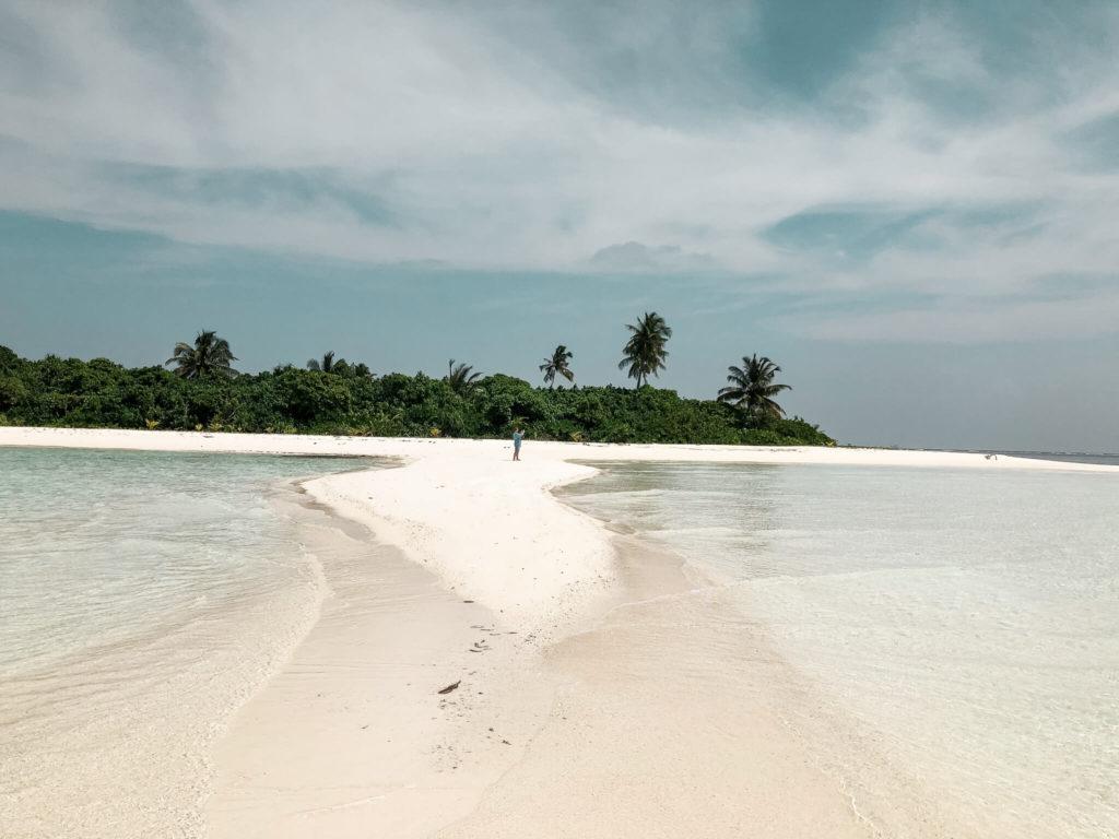 mierzeja na Malediwach