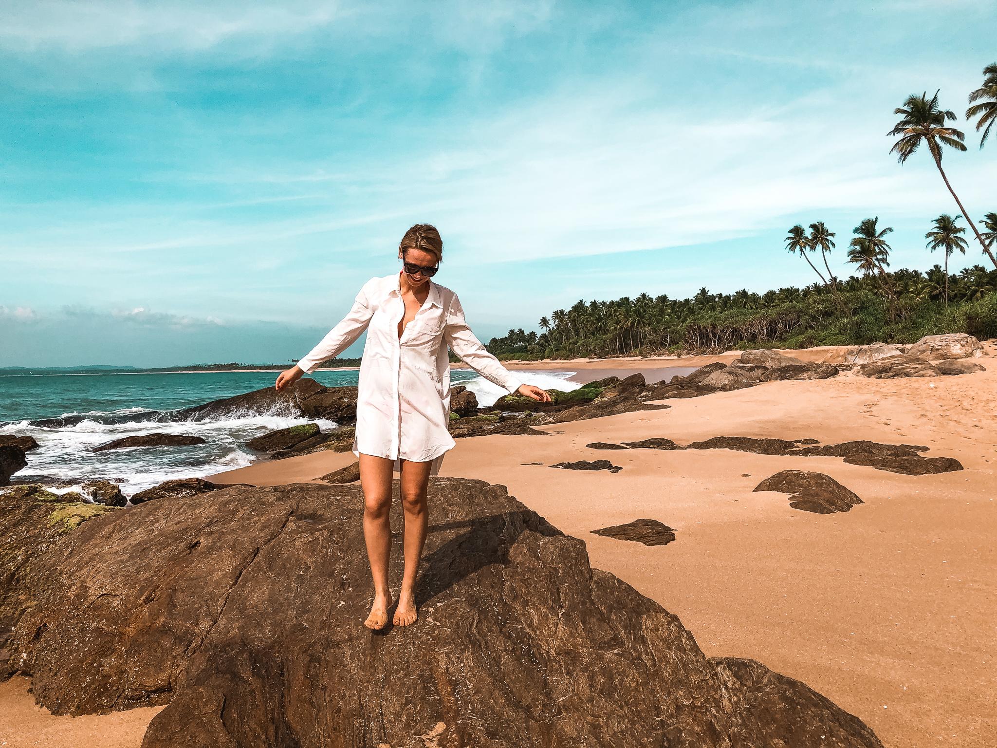 plaża w tangalle