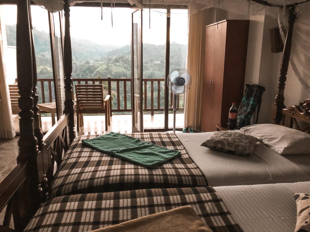 pokój w hotelu sky green resort
