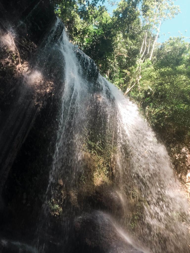 Dimiao Twin Falls wodospad na wyspie Bohol