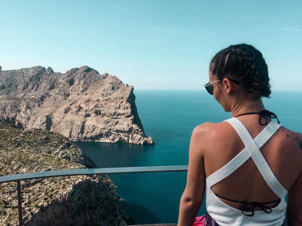 punkt widokowy Cap Formentor na Majorce