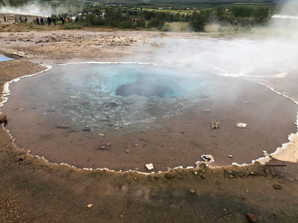 obszar geotermalny Geysir na Islandii