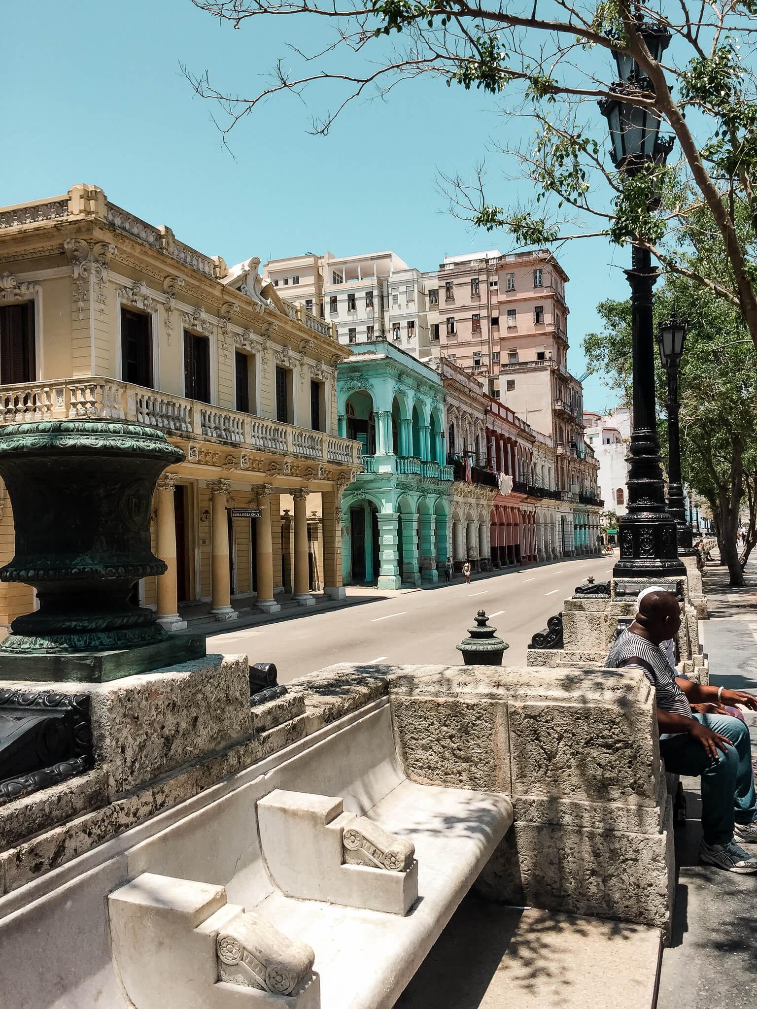 Malecon na Kubie