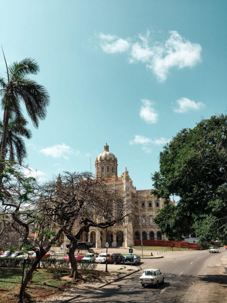 Muzeum Rewolucji w Hawanie stolicy Kuby
