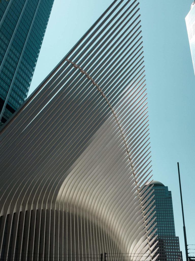 word trade center, dolny manhhatan w Nowym Jorku