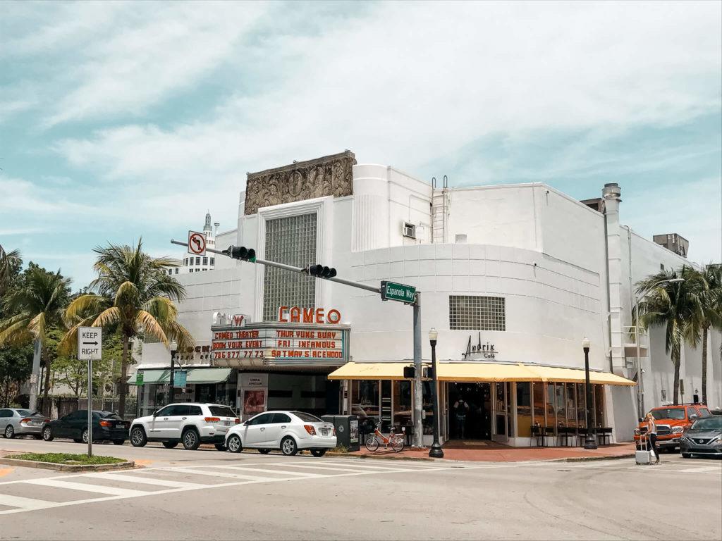 kawiarnia andrix w Miami