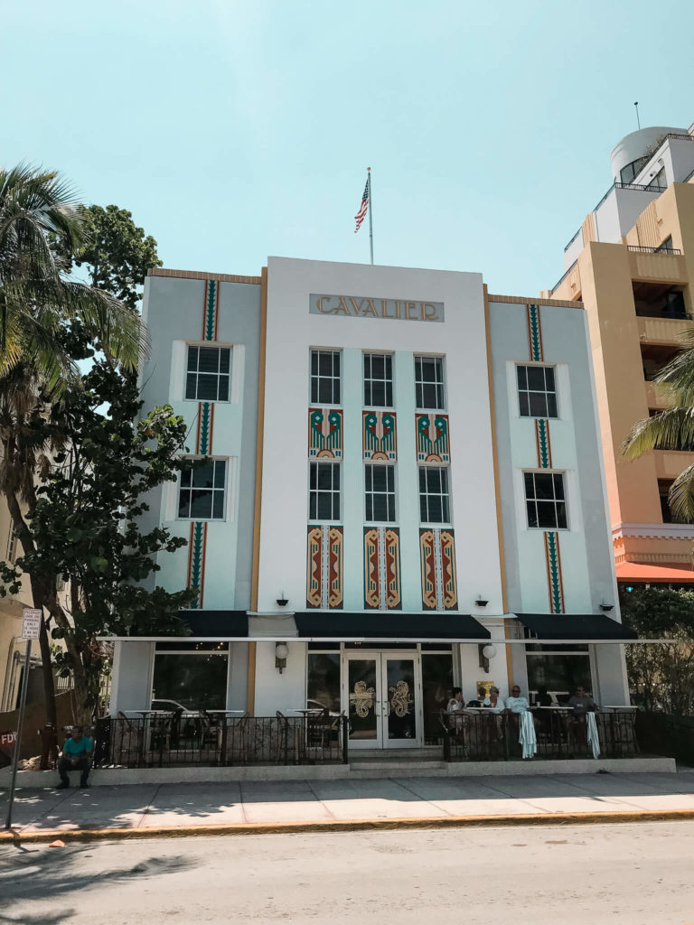 budynek art deco w Miami