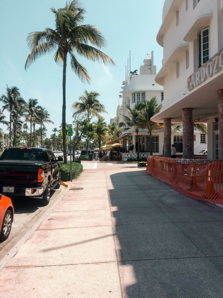 ocean drive w Miami