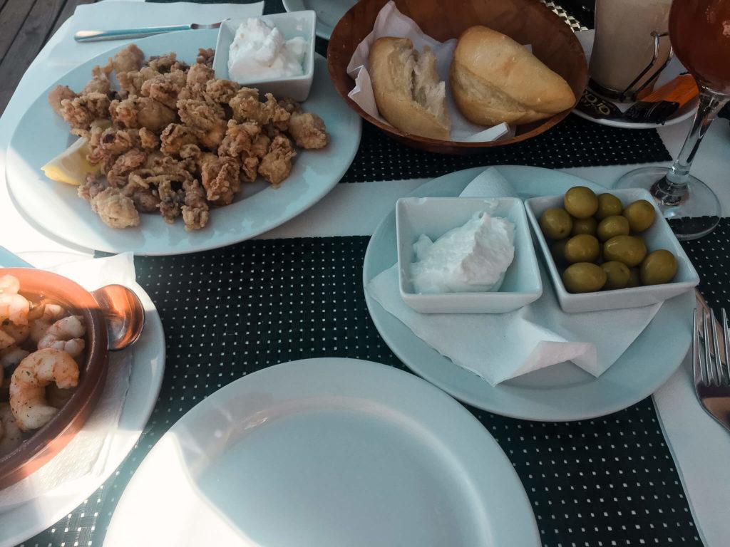 śródziemnomorskie jedzenie na Majorce
