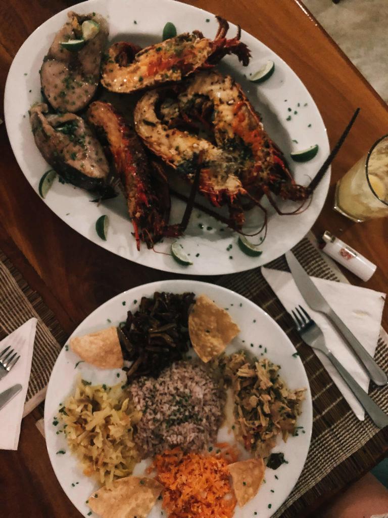 homary, jedzenie na Sri Lance