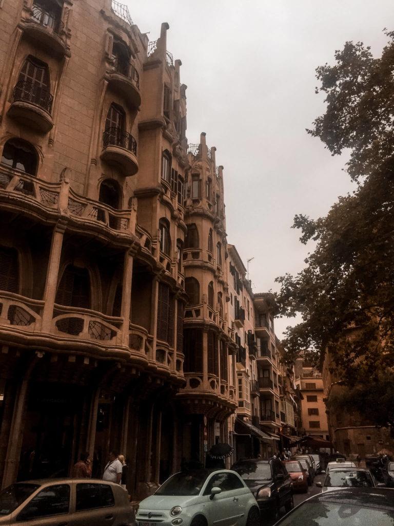 ulice w palma de mallorca