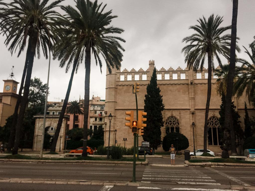 pałac na Majorce