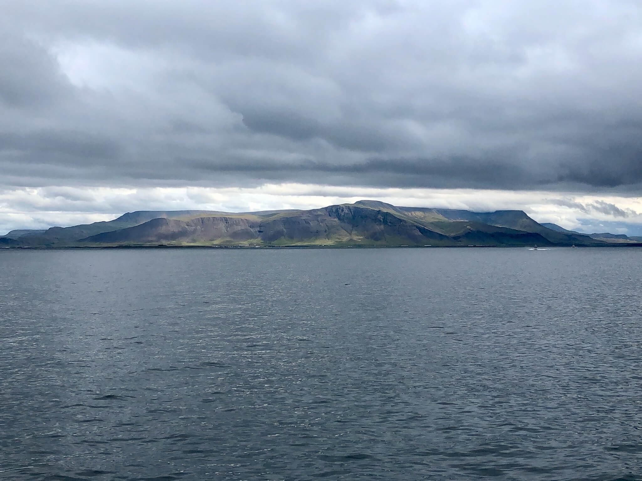 Islandia wyspa na oceanie