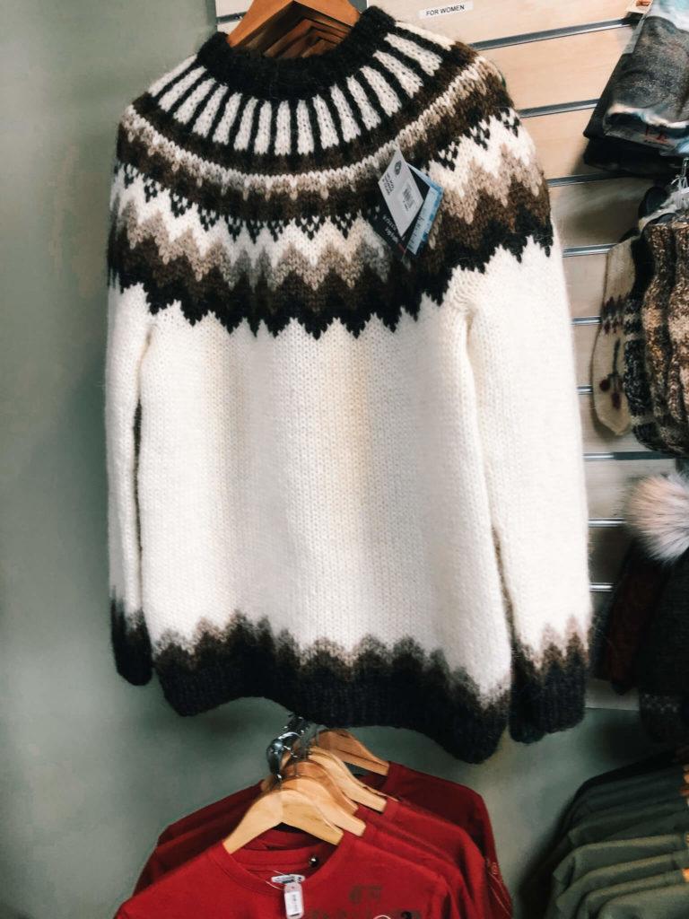 swetry z Islandii