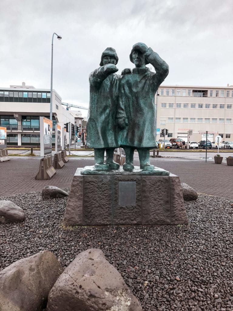 pomnik Reykjavik