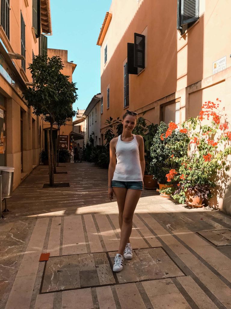 stare miasto w Alcudii na Majorce