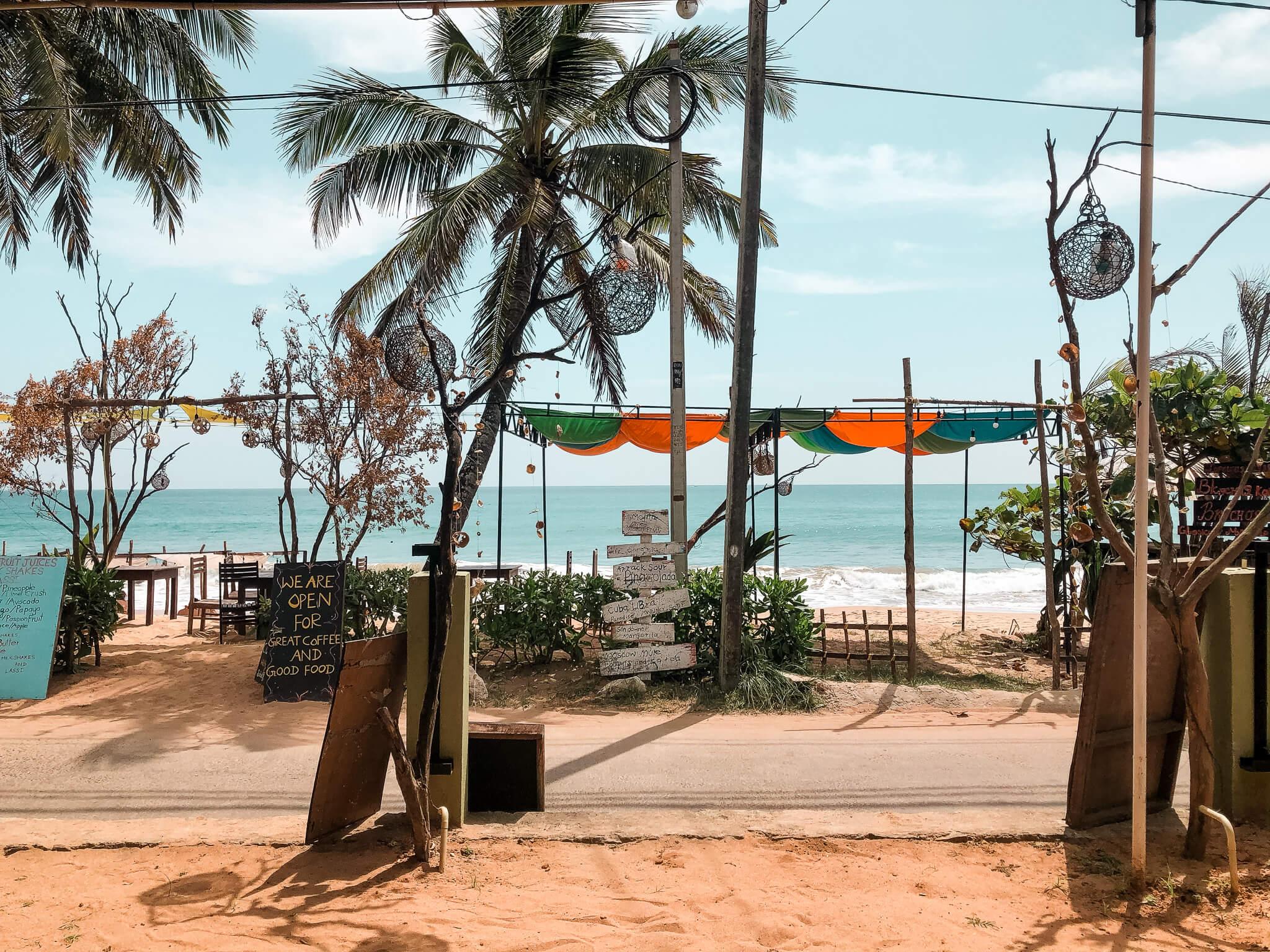 restauracje w tangalle plaża Sri Lanka