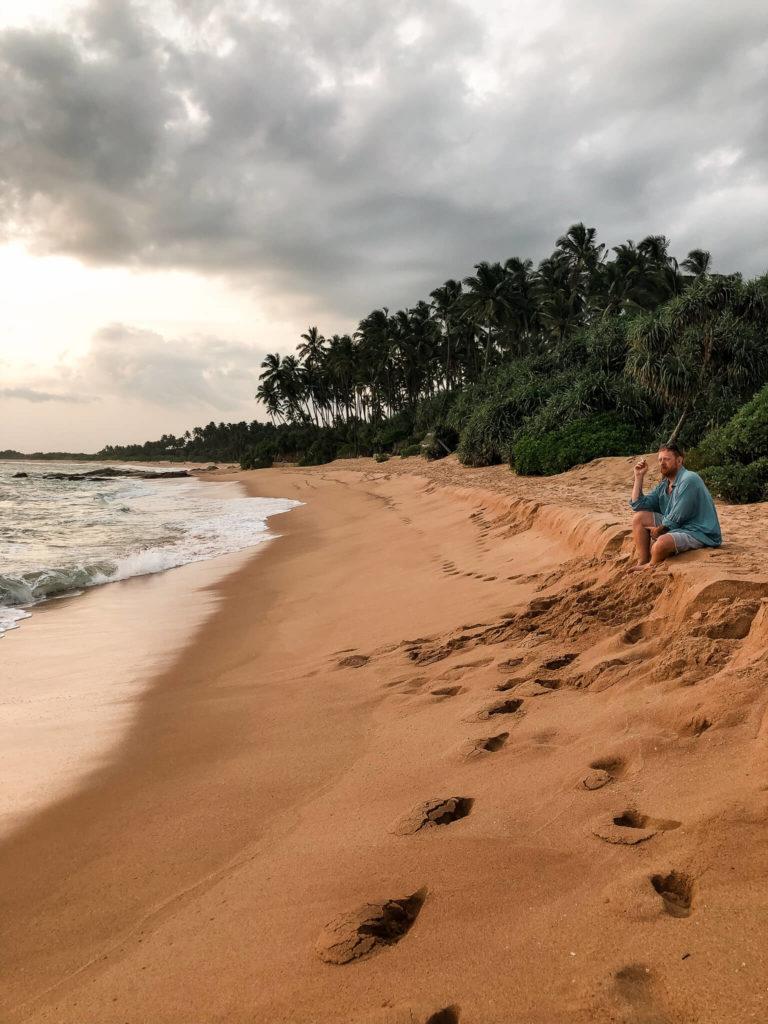 plaża żółwi Sri Lanka