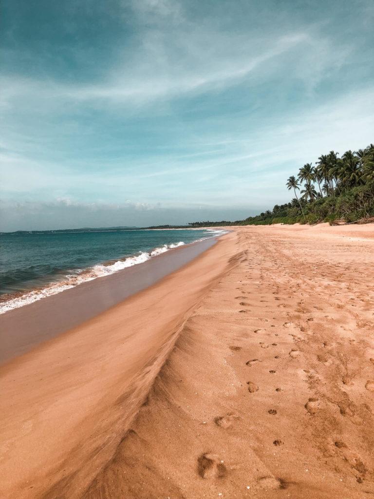 plaża Sri Lanka