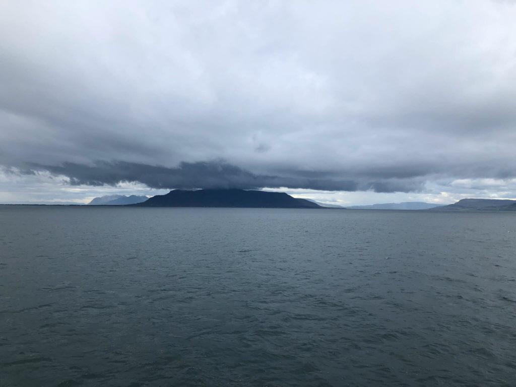 wyspa na oceanie Islandia