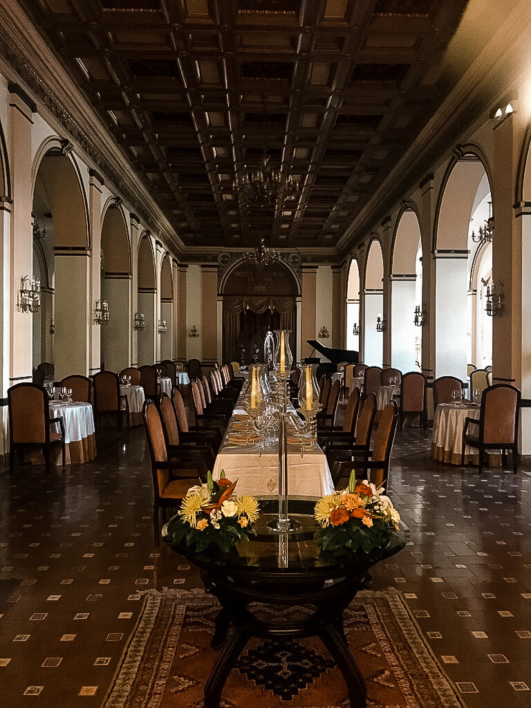 restauracja w hotelu Nacional de Cuba