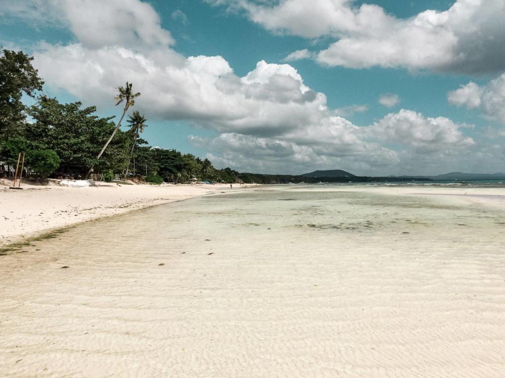 white beach rajska plaża na Panglao
