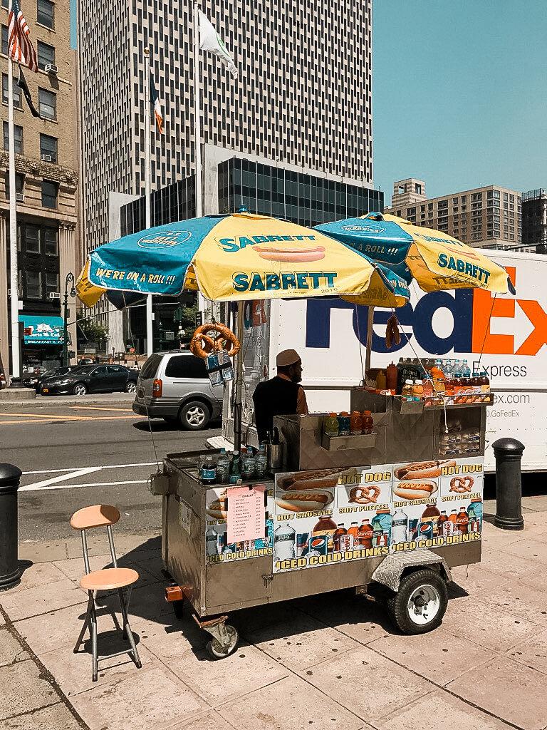 food truck Nowy Jork
