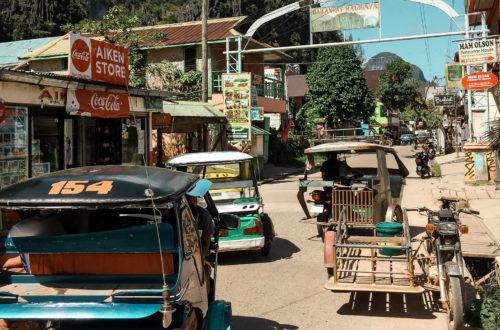miasteczko El Nido na Palawanie