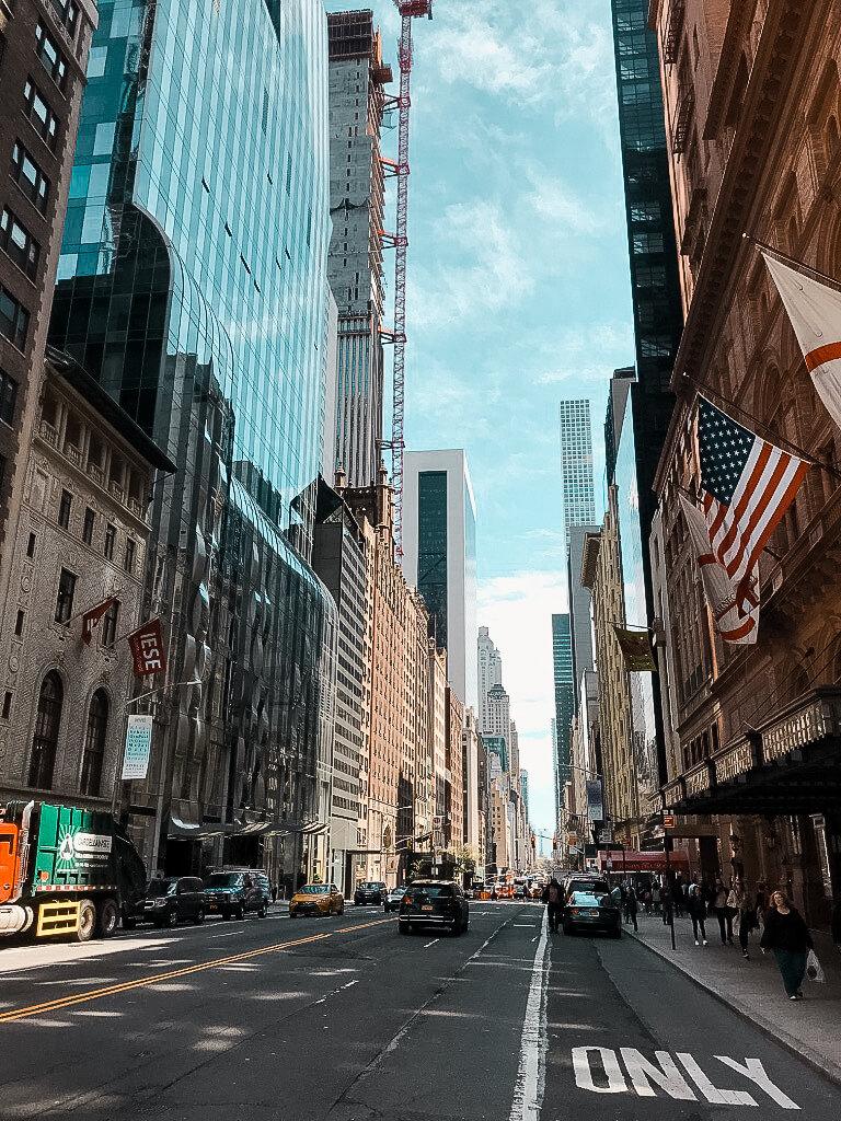 ulice w Nowym Jorku