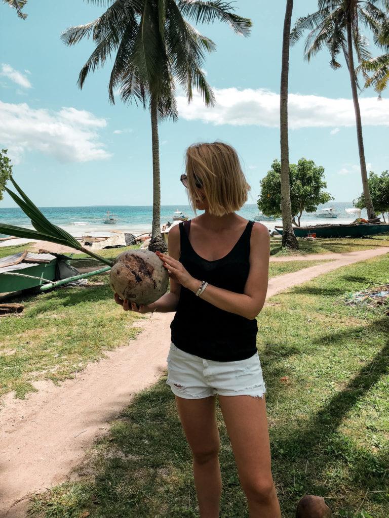 kokosy plaża Bohol