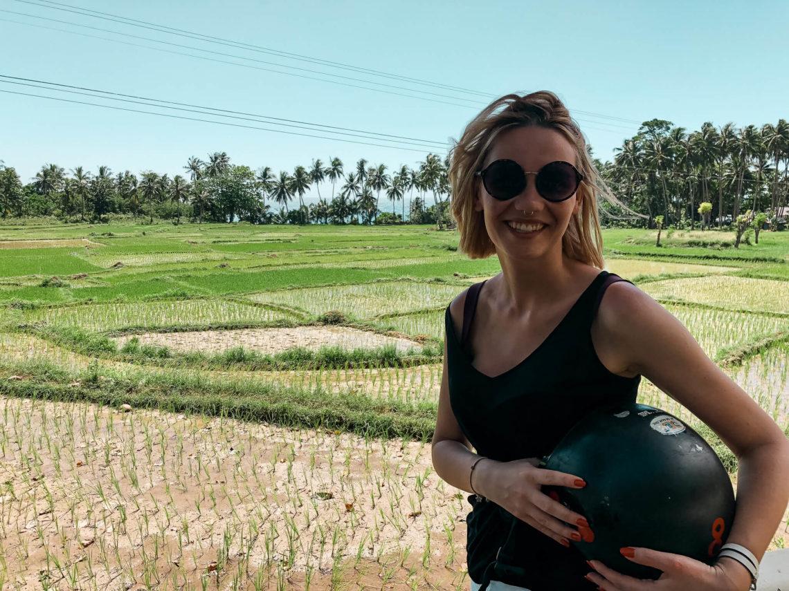 pola ryzowe na Boholu