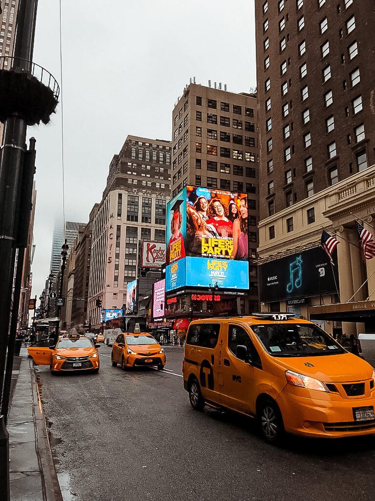 taksówki w Nowym Jorku