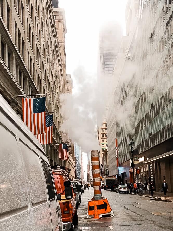 ulice Nowy Jork