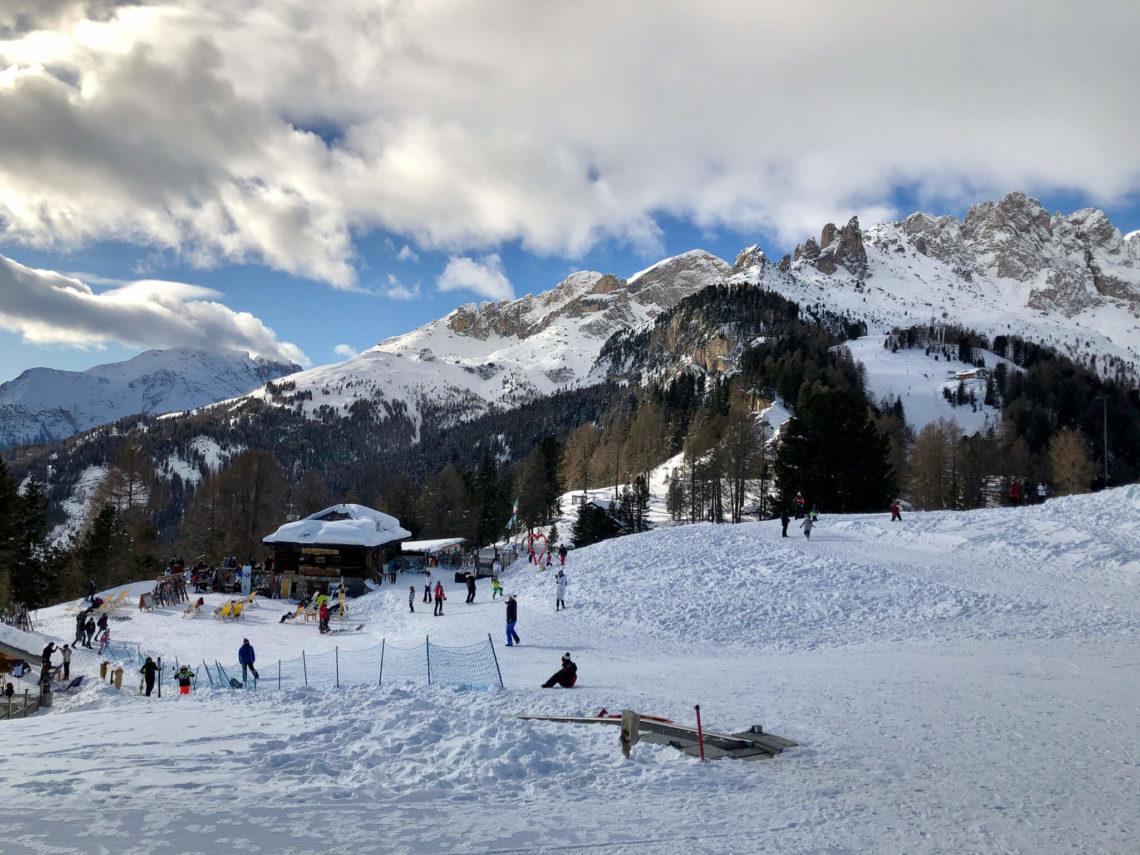 Vigo di Fassa stoki narciarskie