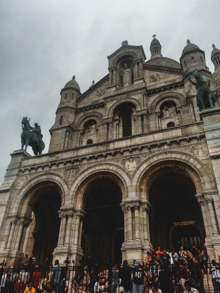 Sacre Coeur w Paryżu