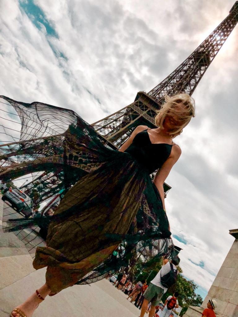 wieża Eiffage w Paryżu