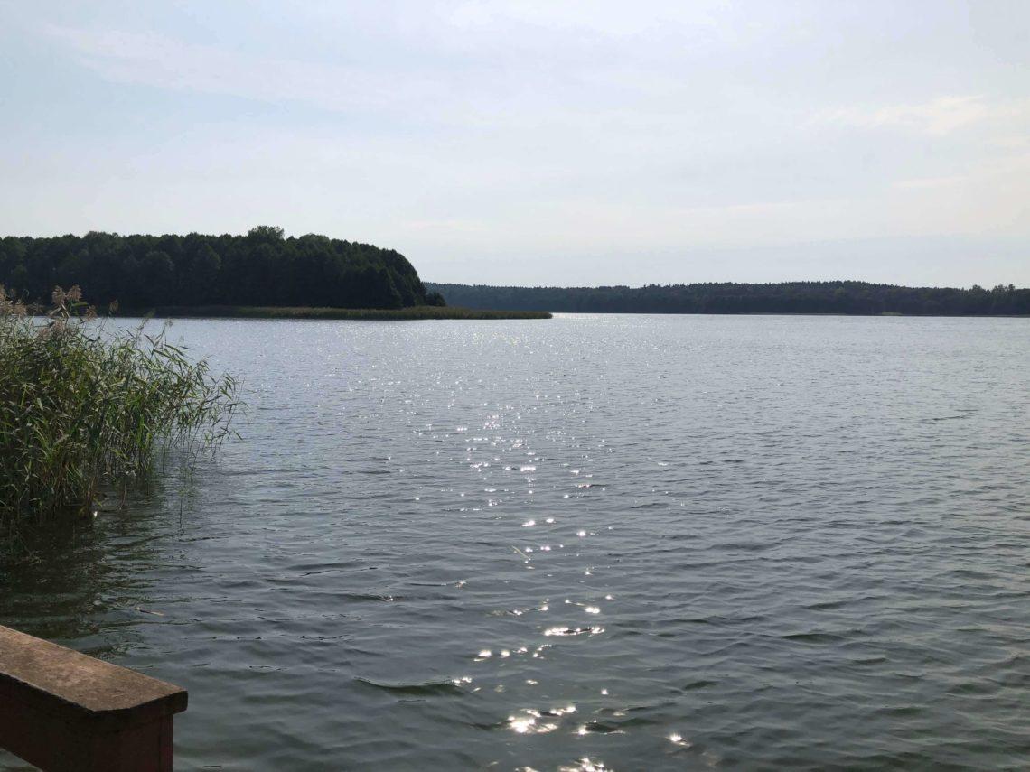 mazury, jezioro Isąg w Pelniku