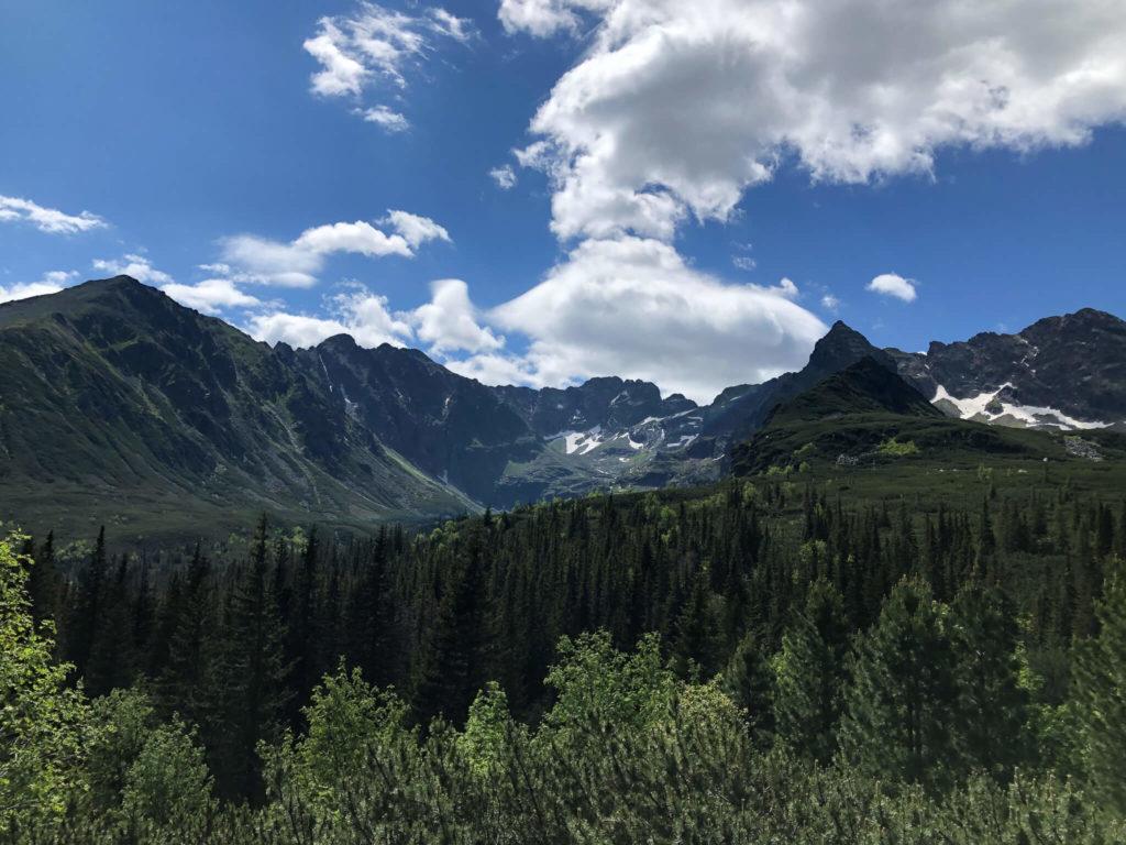 panorama z hali gąsienicowej