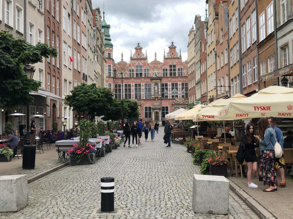 ulica w Gdańsku