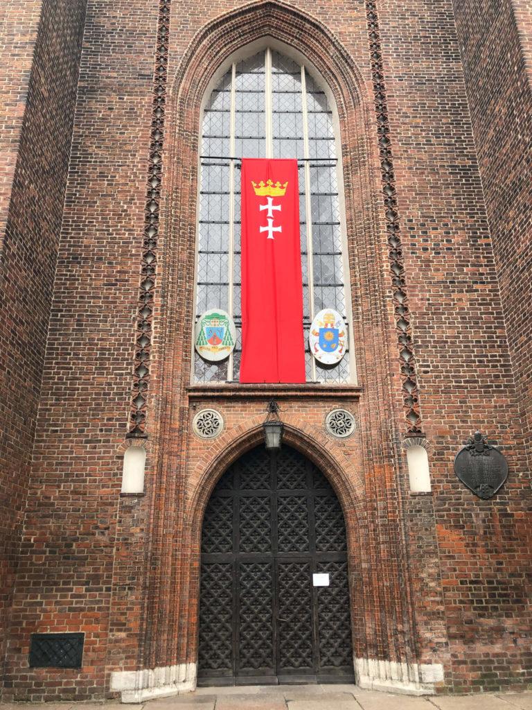 Wejcie do Bazyliki Mariackiej